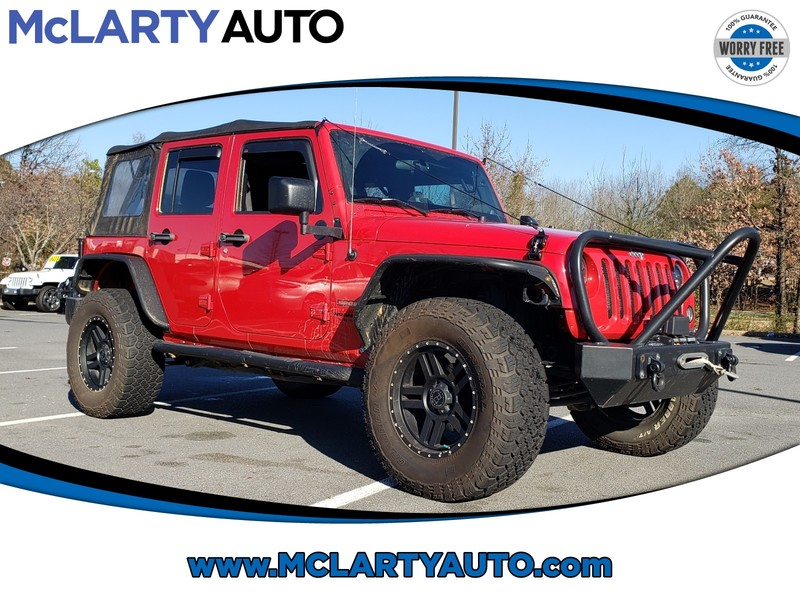 Pre-Owned 2014 JEEP WRANGLER 4WD 4DR SPORT