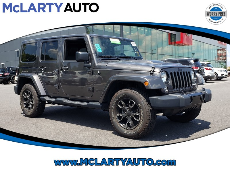 Pre-Owned 2018 JEEP WRANGLER JK UNLIMITED ALTITUDE 4X4