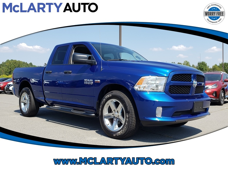 Pre-Owned 2017 RAM 1500 EXPRESS 4X4 QUAD CAB 6'4