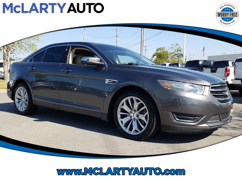 Pre-Owned 2015 FORD TAURUS 4DR SDN LIMITED FWD