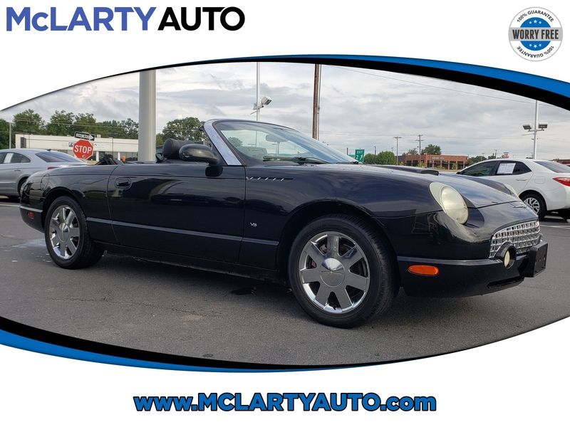 Pre-Owned 2003 FORD THUNDERBIRD 2DR CONVERTIBLE PREMIUM