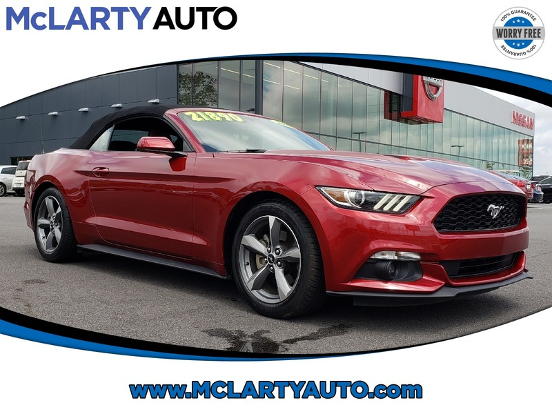 Pre-Owned 2016 FORD MUSTANG 2DR CONV V6