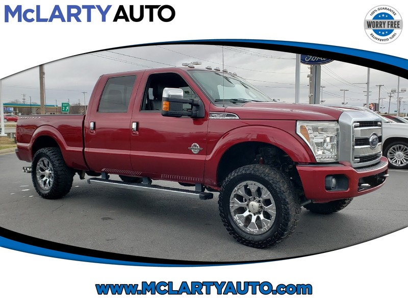 Pre-Owned 2013 FORD F-250 SUPER DUTY SRW PLATINUM
