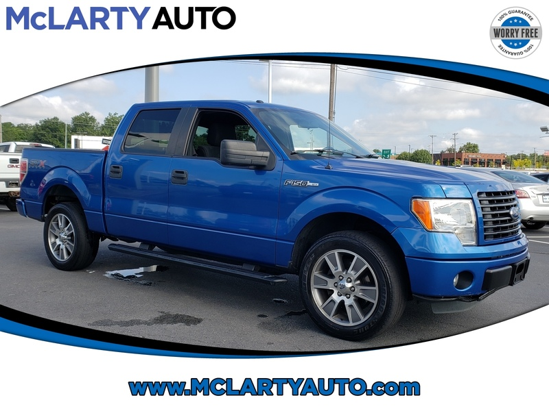 Pre-Owned 2014 FORD F-150 2WD SUPERCREW 145 STX