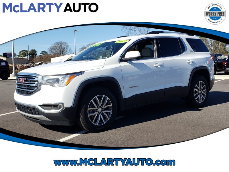 Pre-Owned 2017 GMC ACADIA FWD 4DR SLE W/SLE-2
