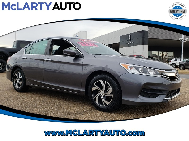Pre Owned 2017 Honda Accord Sedan Lx Cvt