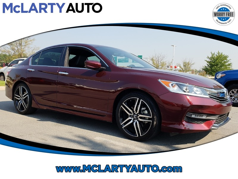 Attractive Pre Owned 2017 Honda ACCORD SEDAN SPORT CVT