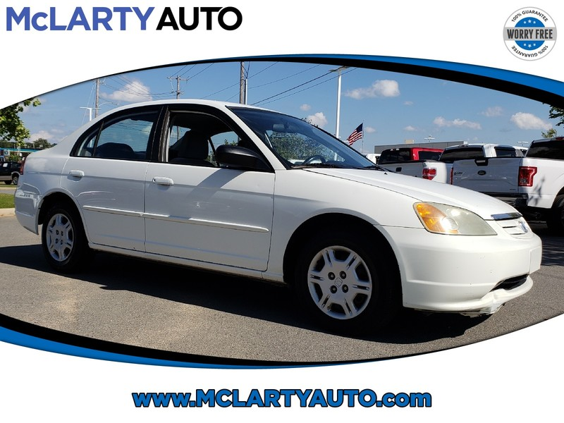 Pre Owned 2002 Honda CIVIC 4DR SDN LX AUTO