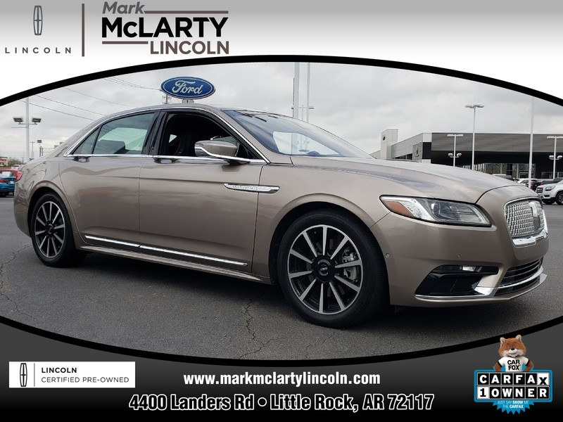 Pre-Owned 2018 LINCOLN CONTINENTAL RESERVE AWD