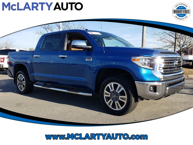Pre-Owned 2018 TOYOTA TUNDRA 1794 EDITION CREWMAX 5.7L FFV