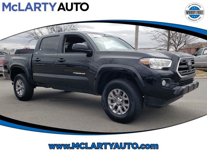Pre-Owned 2019 TOYOTA TACOMA SR5 DOUBLE CAB 5' BED V6 AT