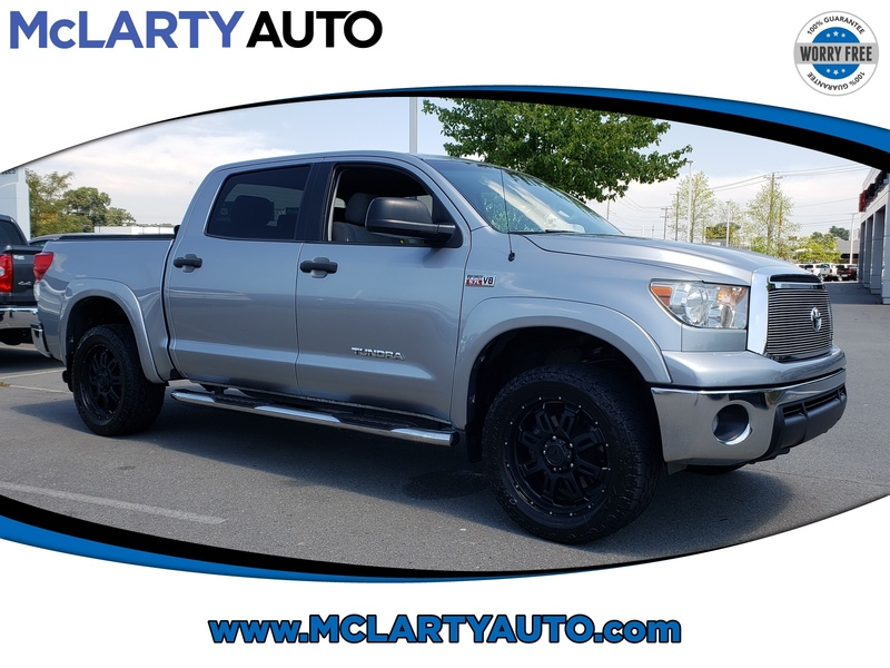 Pre-Owned 2013 TOYOTA TUNDRA CREWMAX 5.7L FFV V8 6-SPD AT