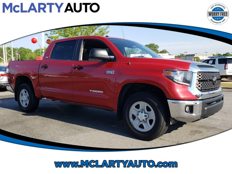 Pre-Owned 2018 TOYOTA TUNDRA SR5 CREWMAX 5.5' BED 5.7L