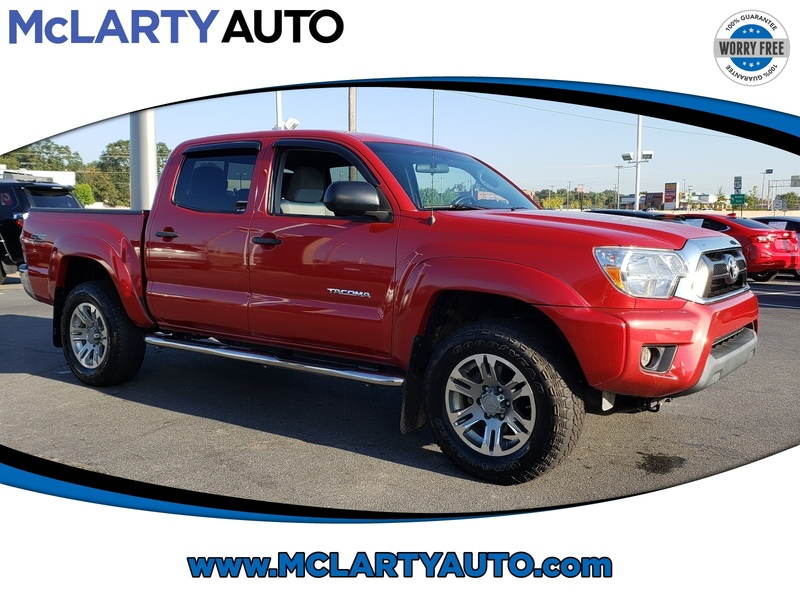 Pre-Owned 2015 TOYOTA TACOMA 4WD DOUBLE CAB V6 AT SR5