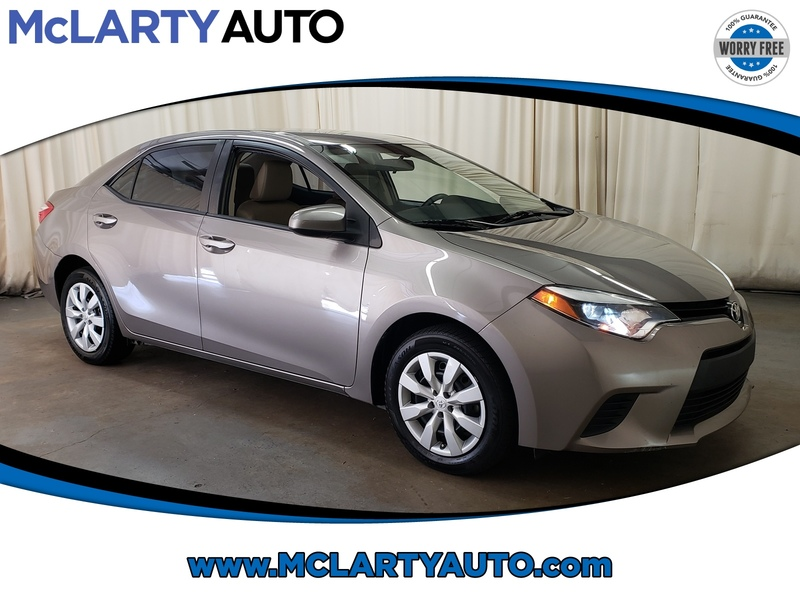 Toyota Little Rock >> Pre Owned 2014 Toyota Corolla Le Front Wheel Drive Sedan