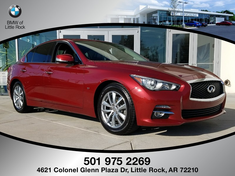 Pre Owned Infiniti Q50 >> Pre Owned 2015 Infiniti Q50 4dr Sdn Rwd Sedan In North Little Rock