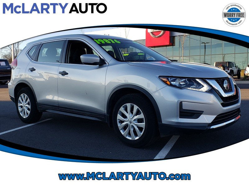 Pre-Owned 2018 NISSAN ROGUE FWD S