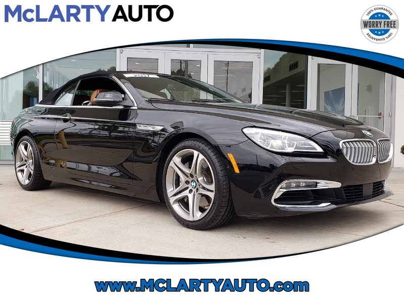 Pre-Owned 2017 BMW 6 SERIES 650I CONVERTIBLE