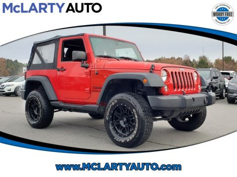 Pre-Owned 2015 JEEP WRANGLER 4WD 2DR SPORT