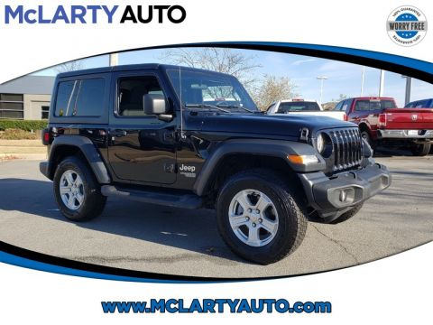 Pre-Owned 2018 JEEP WRANGLER SPORT S 4X4