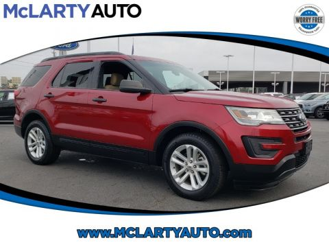 Pre-Owned 2017 FORD EXPLORER BASE FWD