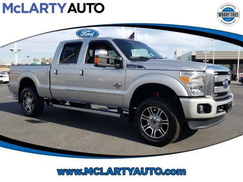 Pre-Owned 2016 FORD F-250 SUPER DUTY SRW PLATINUM