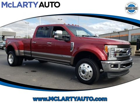 Pre-Owned 2018 FORD F-450 SD DRW KING RANCH