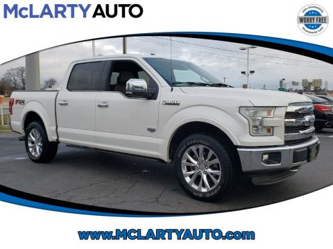 Pre-Owned 2015 FORD F-150 4WD SUPERCREW 145 KING RANCH