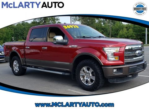 Pre-Owned 2016 FORD F-150 4WD SUPERCREW 145