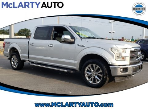 Pre-Owned 2017 FORD F-150 LARIAT 4WD SUPERCREW 6.5' BOX