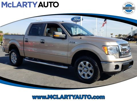 Pre-Owned 2014 FORD F-150 4WD SUPERCREW 145 XLT