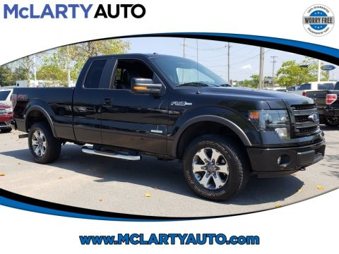 Pre-Owned 2014 FORD F-150 4WD SUPERCAB 145 FX4