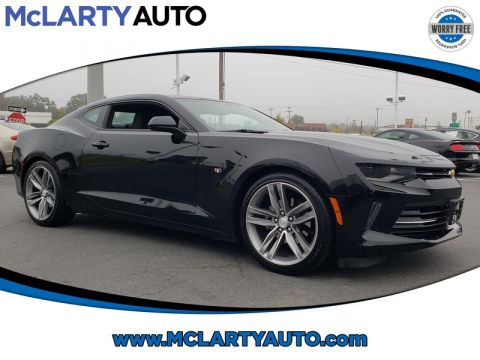 Pre-Owned 2018 CHEVROLET CAMARO 2DR CPE RS