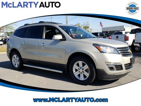 Pre-Owned 2013 CHEVROLET TRAVERSE FWD 4DR LT