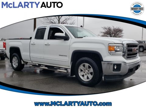 Pre-Owned 2014 GMC SIERRA 1500 2WD DOUBLE CAB 143.5 SLE