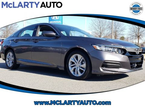 Pre-Owned 2019 Honda ACCORD SEDAN LX