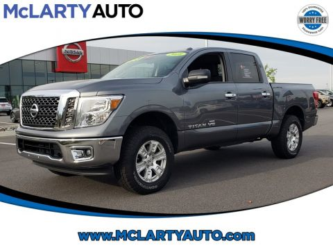 Pre-Owned 2018 NISSAN TITAN 4X4 CREW CAB SV