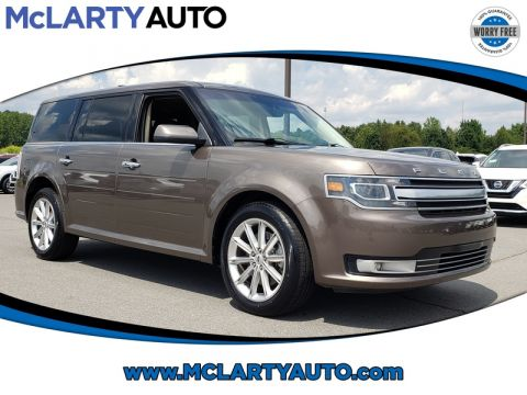 Pre-Owned 2019 FORD FLEX LIMITED FWD