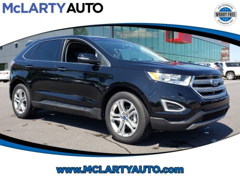 Pre-Owned 2018 FORD EDGE TITANIUM FWD