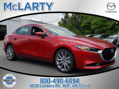 New 2019 MAZDA Mazda3 Sedan FWD W/SELECT PKG