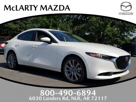 New 2019 MAZDA Mazda3 Sedan FWD W/PREFERRED PKG