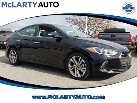 Pre-Owned 2017 HYUNDAI ELANTRA LIMITED 2.0L AUTO
