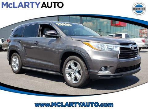 Pre-Owned 2016 TOYOTA HIGHLANDER FWD 4DR V6 LIMITED PLATINUM