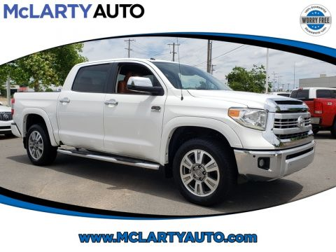 Pre-Owned 2015 TOYOTA TUNDRA CREWMAX 5.7L FFV V8 6-SPD AT 1794
