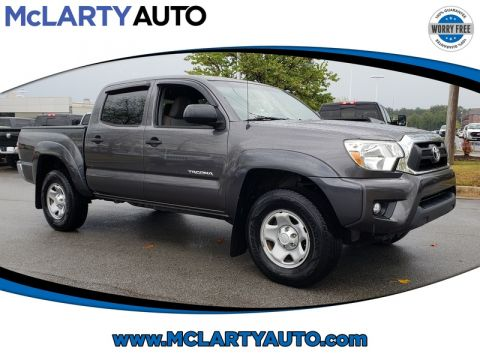 Pre-Owned 2014 TOYOTA TACOMA 4WD DOUBLE CAB V6 AT SR5