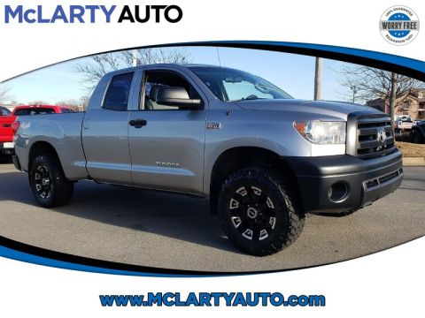 Pre-Owned 2013 TOYOTA TUNDRA DOUBLE CAB 5.7L FFV V8 6-SPD AT