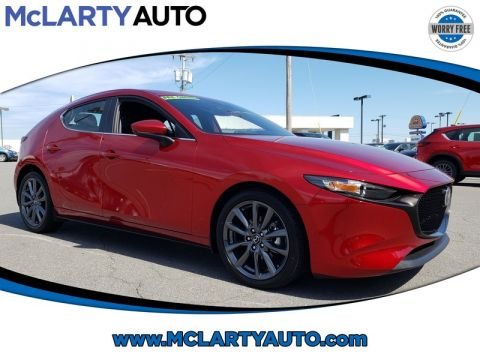 Certified Pre-Owned 2019 MAZDA Mazda3 Hatchback BASE