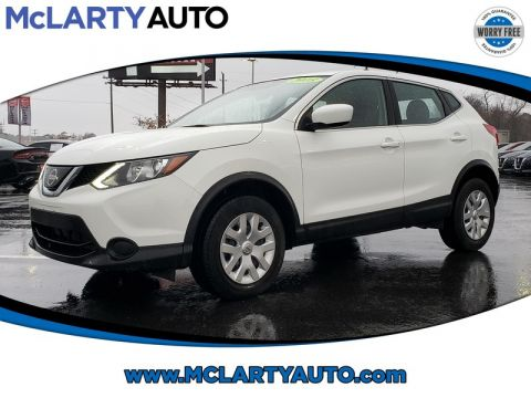 Pre-Owned 2018 NISSAN ROGUE SPORT 2018.5 FWD S