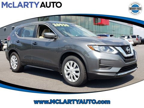Pre-Owned 2017 NISSAN ROGUE FWD S