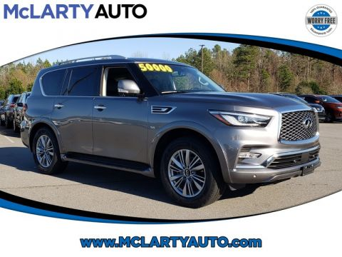 Pre-Owned 2019 INFINITI QX80 LUXE AWD